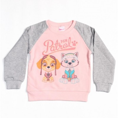 Patrol Paw Pullover Sweatshirt for Girl Kids, Warm For Winter