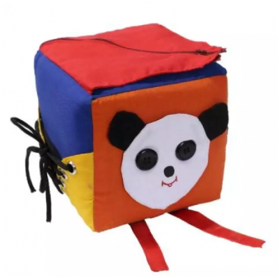 Multicolored Fastening Cube Toy