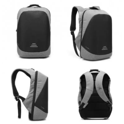 CoolBELL Anti-theft Bag With Code Lock Water-resistant Backpack With USB Port Charging Port Fit 15.6 Inch Laptop
