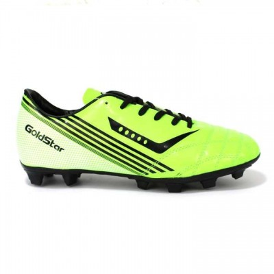 Goldstar Neon/Black Football Shoes For Men