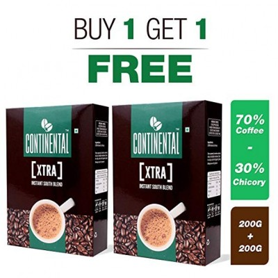Continental Xtra Instant Coffee Powder 200g Bag in Box