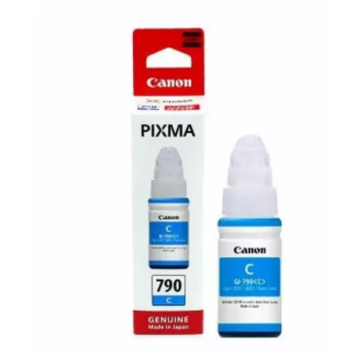 Canon GI- 790 Cyan Ink Bottle For G1000, G2000, G3000, G4000