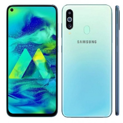 Samsung Galaxy M40 [Ram-6GB Rom-128GB, Camera: 32+8+5MP(Main)+16MP(Selfie)]