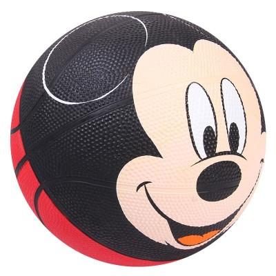 Mickey mouse basketball ball size 3 panier basketball cute cartoon kids children outdoor playing game ball rubber basket ball
