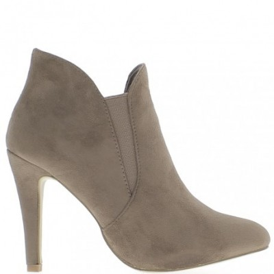 Pointed Suede Ankle Boot For Women
