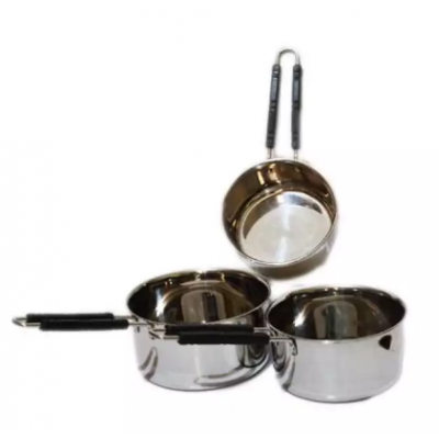 Stainless Steel Sauce Pan Set Of 3