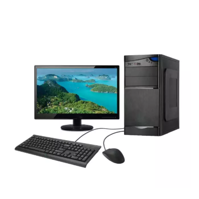 "Desktop Computer Intel Core 2 DUO 4THGEN (3.0 Ghz)/4 GB DDR3/500 GB HDD 18.5"" monitor Intel HD Graphics/Windows 7 Unlimited"