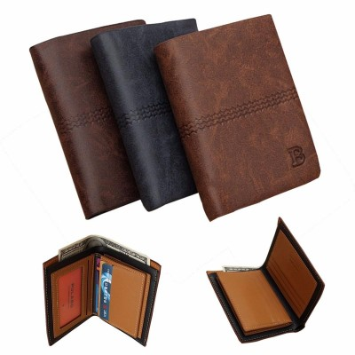 Coffee Brown Unique Magic Wallet For Men