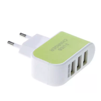 Universal 3 Port USB Power Charger - 3.1A