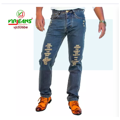 Virjeans Slim-Fit Grunge Jeans/Denim Pant stretchable