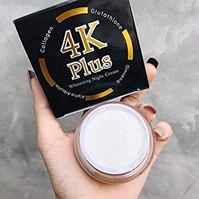 4K Plus Whitening Night Cream 20 g. Whitening Anti-aging Smooth Firm Skin