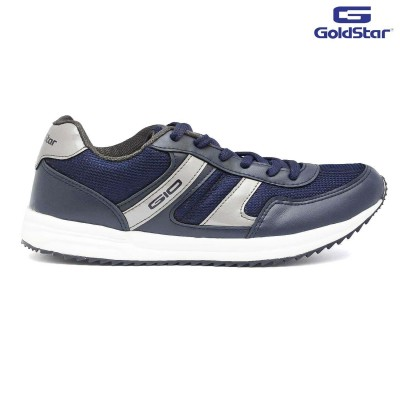 Goldstar Black Sports Shoes For Men - G10 G500