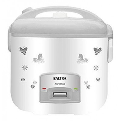 Baltra Star Deluxe BTS700D 1.8-Litre Rice Cooker (White)