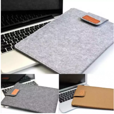 Soft Laptop Bag Case Cover Anti-Scratch For MacBook Tablet (Gray)