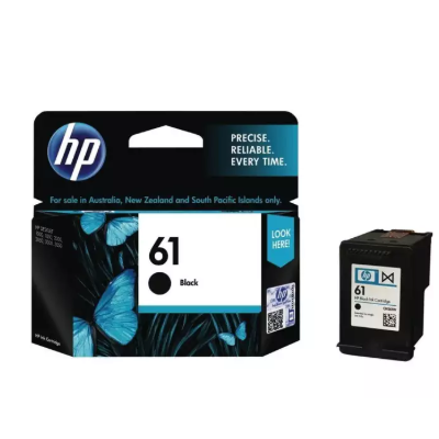HP 61 Black Original Ink Cartridge - (Black)