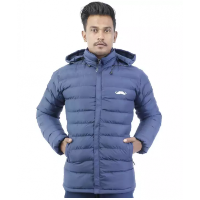 Hooded Silicon Jacket
