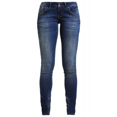 Dark Blue Slim Fit Jeans Pant For Women