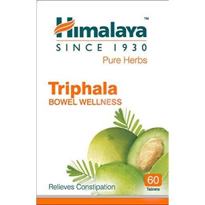Himalaya Wellness Since 1930 Pure Herbs Triphala Bowel Wellness - 60 Tablets