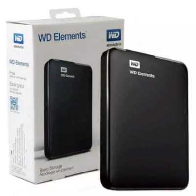 WD ELEMENTS PORTABLE 1TB External Hard Disk