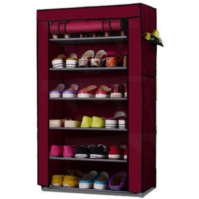 6 Layers Shoe Rack Portable and Folding