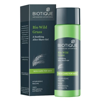 Biotique Bio Wild Grass After Shaving Gel- 120ml
