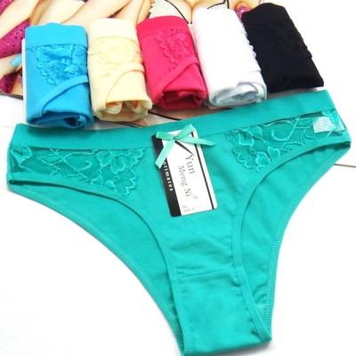 Women Seamless Ladies Underwear Mesh Lace 1 Piece