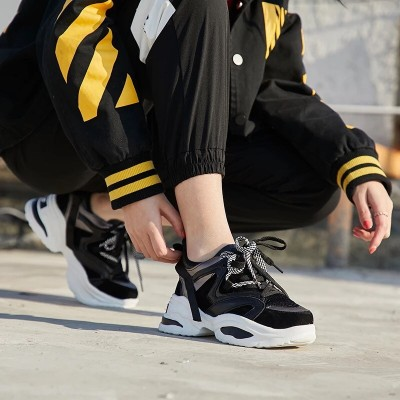 Black Casual Sneakers For Women