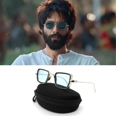 2019 most trendy Black And Silver Metal Sunglasses (kabir singh)