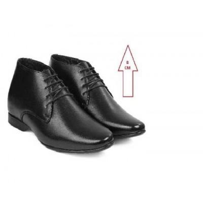 BXY 563 Elevator Shoes For Men-(Black)