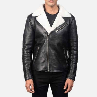 Leather Fur Jacket For Men Winter Casual jacket Thick Warm Windbreaker Fleece Classic Men Leather Jacket By Bajrang