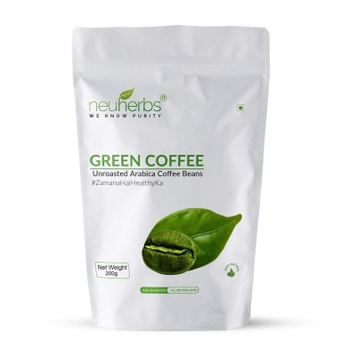 Neuherbs Green Coffee Beans for Weight Loss 200g