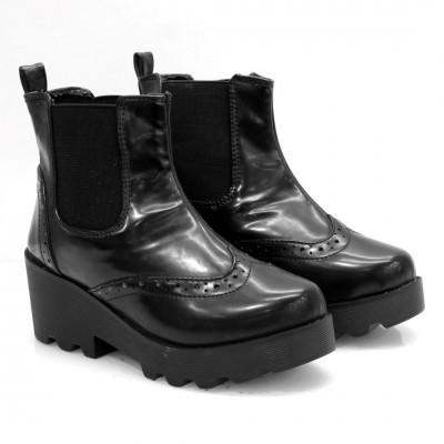 Black XIMENA Short Lifestyle Boots For Women