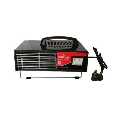 Happy Home Copper Dual Mode Blow Hot Room and Fan Heater