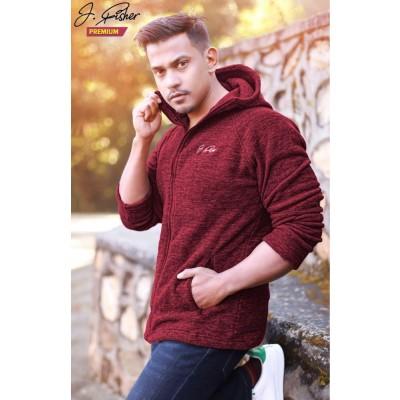 J.Fisher Premium Limited Edition Fleece Hoodie For Men