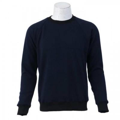 J.Fisher Solid Velvet Fleece Sweatshirt For Men