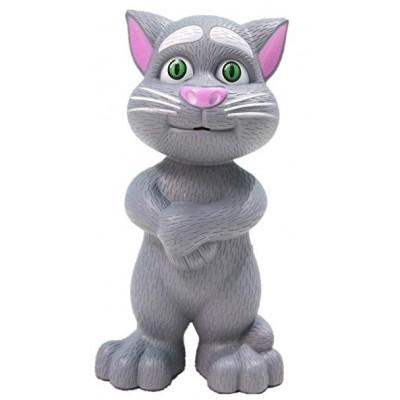 Grey Intelligent Talking Tom Cat For Kids