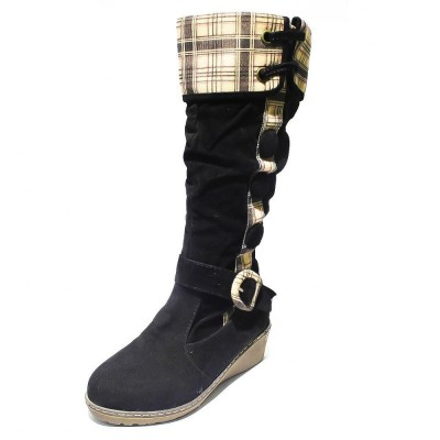 Printed Long Winter Boots For Women