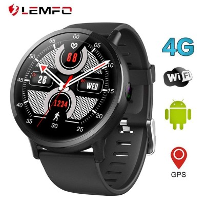 Lemfo Lem X Smart Watch Phone Android 7.1 4g Heart Rate