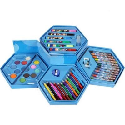 Big Homes Frozen Colors Box Color Pencil ,Crayons , Water Color, Sketch Pens Set Of 46 Pieces