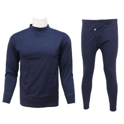 Dark Grey Thermal Set For Men