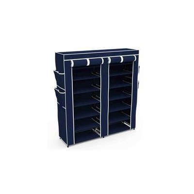 4 Layers Portable and Folding Shoe Rack