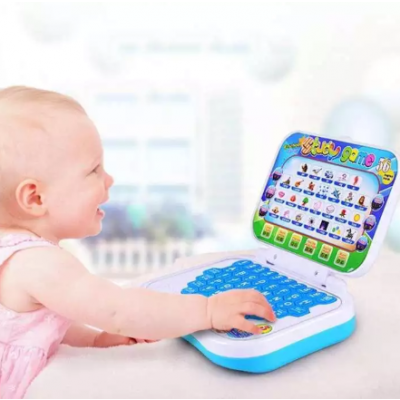 Educational Laptop for Kids ABC and 123 Learning (Color Mix)