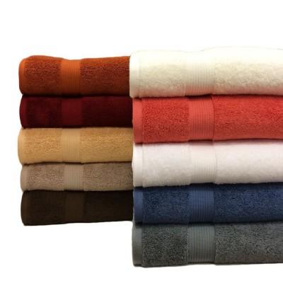 Patterned Cotton Bath Towel - Large