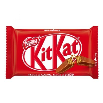 Nestle KITKAT 4 Fingers - Nestle KITKAT 4 Fingers - 37.3g + 1.0g [Buy More and Save!] + 1.0g [Buy More and Save!]