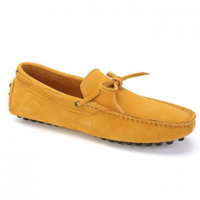 Fashion Men's Loafers Driving Moccasins Soft Suede Leather Penny Flats Casual Walking Work Party Club Shoes