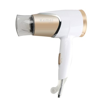 Kemei Professional Hair Dryer Mini Portable Hair Dryer for Home and Travel