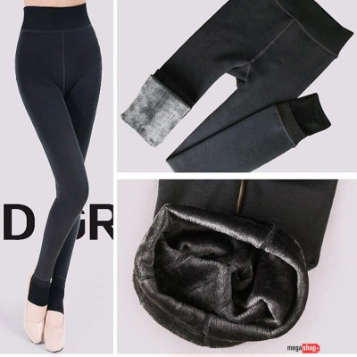 Warm Legging With Thick Fur Lined
