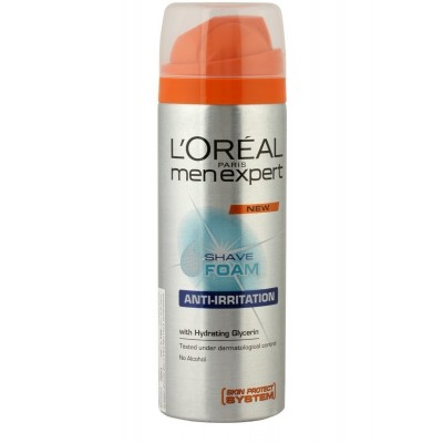 L'oreal Men's Anti-Irritation Hydrating Glycerin Shave Foam, 200ml