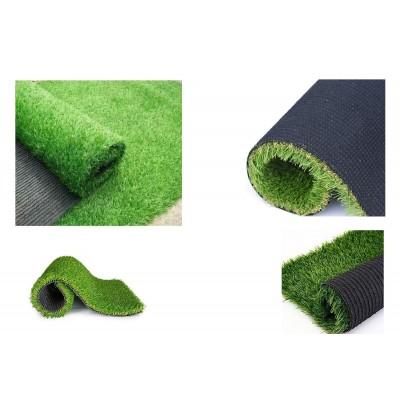 Artificial Grass for Floor, Soft and Durable Plastic Natural Garden Plastic Turf Carpet Mat, Artificial Grass 6.5 X 6 Feet)