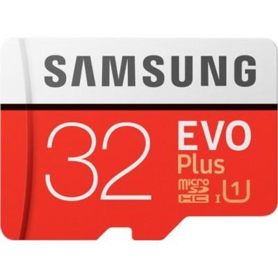 Samsung Evo Plus 32GB MicroSD HC Class 10 UHS-1 80mb/s Mobile Memory Card 32G MB-MC32D